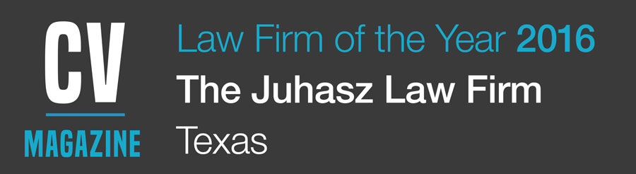 Texas Law Firm of the Year 2016 - Juhasz